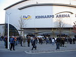 Kinnarps Arena indfører match.   JPG