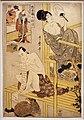 Kitagawa utamaro, serie del magazzino dei venditori leali, VII atto, 1801-02 ca. 01.jpg