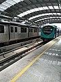 Kochi Metro Train in Station.jpg