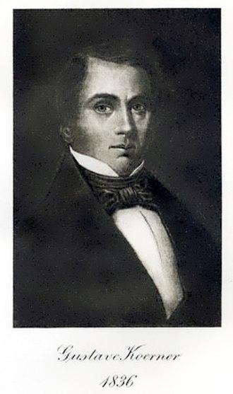 Gustav Koerner - Image: Koerner gustave