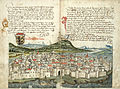 Konrad von Grünenberg - Beschreibung der Reise von Konstanz nach Jerusalem - Blatt 09v-10r.jpg