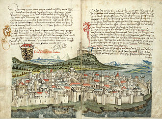 Siege of Zadar (998) - Image of Zadar in the Middle Ages