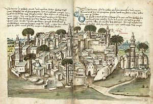 Ramla - Ramla, 1487, by Conrad Grünenberg