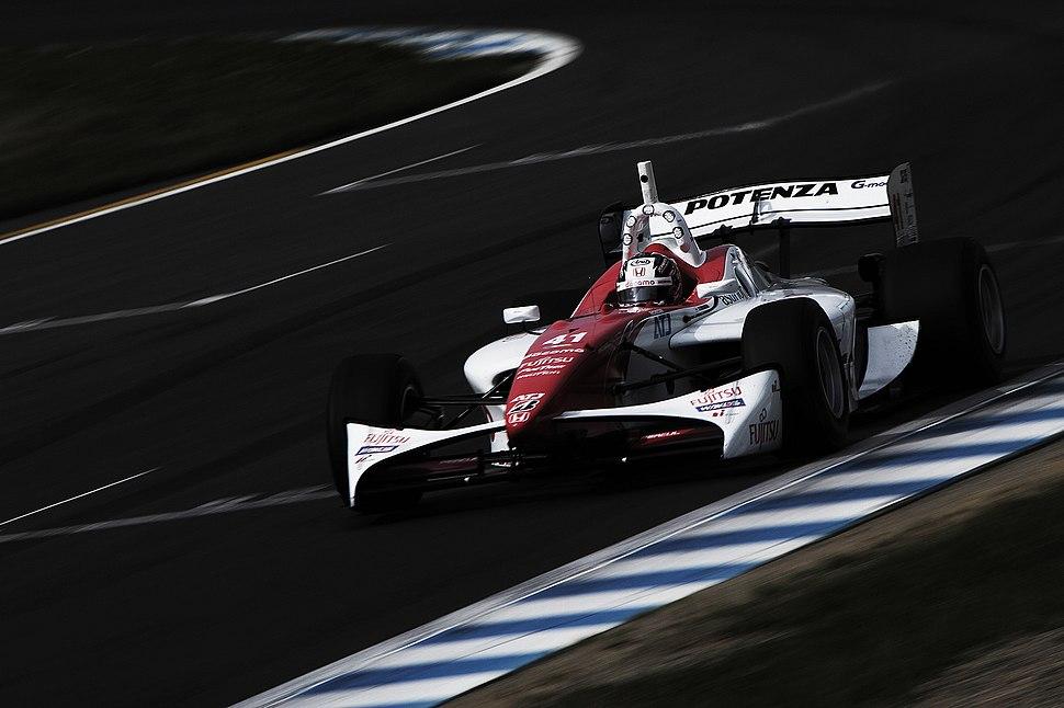 Koudai Tsukakoshi Formula Nippon 2012