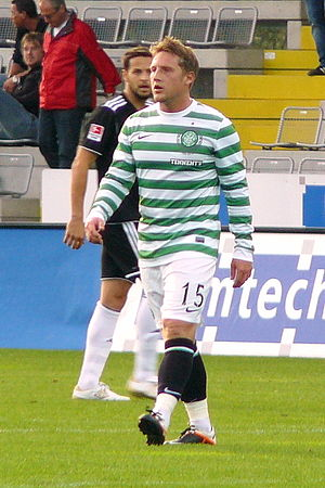 Kris Commons - Commons playing for Celtic in 2012