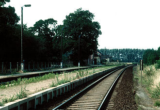 Magdeburg–Thale railway - Image: Krottorf 02