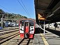 Kuha 814-24 at Saiki Station.jpg