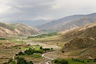 Kunduz City in Kunduz Province, Afghanistan
