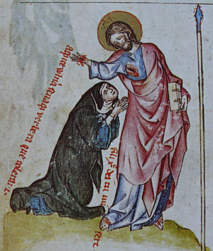 Passional of Abbess Kunigunde - Image: Kunhuta jezis