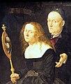 Kunsthistorisches Museum Wien, Furtenagel, der Maler Hans Burgkmair und seine Frau Anna.JPG