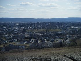 Kutztown PA viewed from hill north of town.jpg