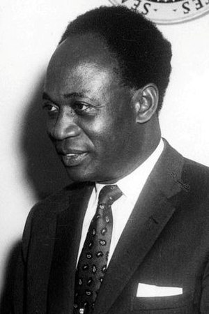 Union of African States - Kwame Nkrumah, first President of Ghana and major leader in the Union of African States