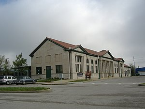 Historic Railpark and Train Museum - The historic Louisville and Nashville railroad station in 2008