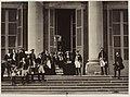 L'Impératrice Eugénie et ses hôtes en tenue de vénerie.jpg