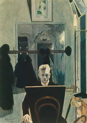 Léon Spilliaert - Self-portrait, 1907, Metropolitan Museum of Art