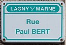 L1731 - Plaque de rue - Rue Paul Bert.jpg