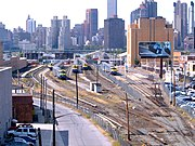 Long Island City station and yard
