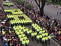 La Paz fue la principal protagonista del desfile del 20DeJulio. (14701960715).jpg