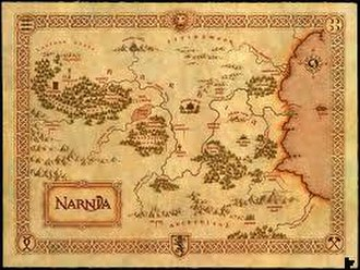 Narnia (country) - Map of the Narnian Realm