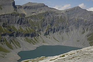 Lac du Vieux Émosson reservoir