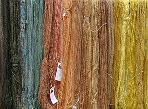 Colorantes naturales wikipedia la enciclopedia libre - Tinte para madera casero ...