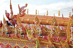 Rocket Festival - Bung Fai Line Sribhumi, Suwannaphum, Roi Et Province