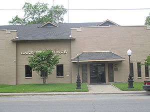 Lake Providence, Louisiana - Lake Providence City Hall is located across from the U.S. Post Office.