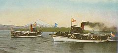 Lake Washington (near Seattle) steamboats circa 1906.jpg