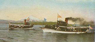 Lake Washington steamboats and ferries