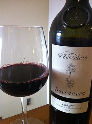 Piemonte (wine) - A Cabernet Sauvignon/Barbera blend from the Langhe DOC.
