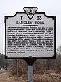 Langley Fork (Marker Number T 33) (3361958256).jpg