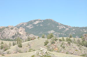 Laramie Peak - Southern face of Laramie Peak