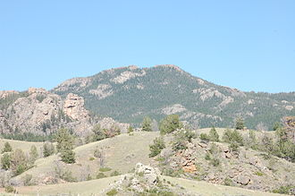 Laramie Peak - Southern face of Laramie Peak