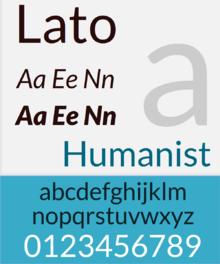 lato font