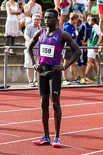 Peter Bol (runner) Australian middle-distance runner