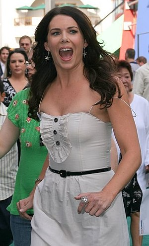 Lauren Graham - Graham at the Evan Almighty premiere, 2007