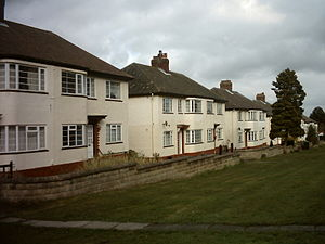 Lawnswood - 1930s housing in Lawnswood