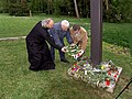 Laying a wreath in the memory of the victims of the war.jpg