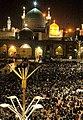 Laylat al-Qadr 19th Ramadan, Imam Reza shrine, Mashhad (7 8507210134 L600).jpg