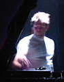 Lcd soundsystems james murphy djing at the Reading Festival 2005.jpg