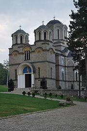 Најголемата црква во Лешочкиот манастир