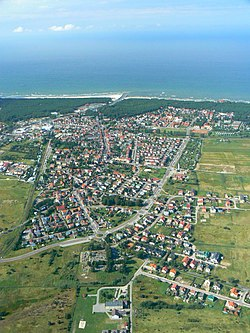 Leba-aerial photography