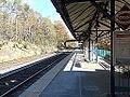 Leeland Road VRE Station; DC-Bound View.JPG