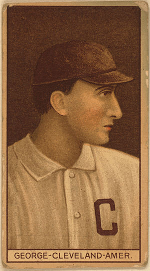 Lefty George - 1912 baseball card