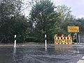 Leine flood Hemmingen 2017-07-28 K 221 Seniebach bridge.jpg