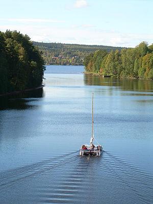 Dalälven - Österdalälven at Leksand