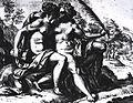 Lesbiche - Goltzius Hendrik (1581-1617) - La Concordia e la Pace - scans. bn - Dunand, II 624.jpg