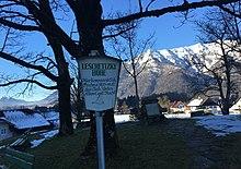 """Leschetizky-Höhe in Bad Ischl, auf welcher """"Guten Abend, gut' Nacht"""" komponiert wurde (Quelle: Wikimedia)"""