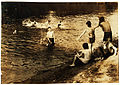 Lewis Hine, The Swimming Hole, Westfield, Massachusetts, 1916.jpg
