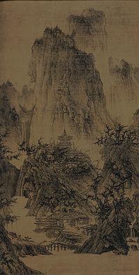 Li Cheng,temple boudhiste dans les montagnes.jpg